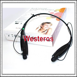 Wholesale HBS Wireless Bluetooth Headset Apt x Stereo Headphone Universal Earphone For iPhone S s s Plus Free DHL