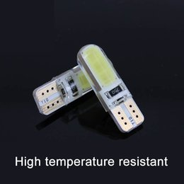 Wholesale COB T10 Canbus Clearance Lights License Plate Light Ice Blue Super Bright Small Car Led Bulb Modified Special Crystal COB Automotive Leds