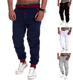 Wholesale new Casual Harem Pants Athletic Hip Hop Dance Sporty Hiphop Mens Sport Sweat Pants Slacks Loose Long Man Trousers Sweatpants
