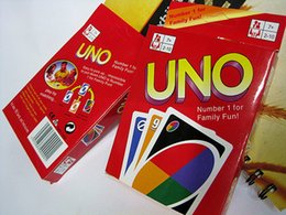 UNO card family party games friend activity toys many people play the game props hot sales Free Shipping