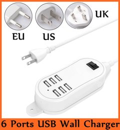 Wholesale Multi USB Charger Input AC V Hz Output DC V A Port USB Wall Charger USB Powered Devices Universal Charge