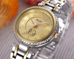 Wholesale Hot Sale Christmas Gift Luxury Fashion Men And Women Of The Steel Belt Movement Quartz Clock Women s Waterproof Stainless Steel watch BELBI