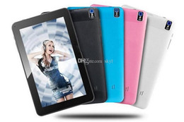 Dhl de la tableta de 8 gb en venta-2016 A33 tableta del núcleo del patio 9 tableta 8GB de Allwinner A33 de la pulgada con la cámara dual WiFi OTG Bluetooth de la parte posterior de la linterna DHL liberan