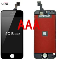 Wholesale 2016 A for iphone5c screen digitizer assembly lowest price for iphone5c display big discount replacement for iphone5c