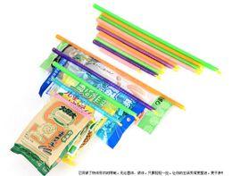 Wholesale Magic Bag Sealer Stick Unique Sealing Rods Great Helper For Food Storage Sealing cllip sealing clamp clip