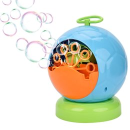 Wholesale Sample, OBCANOE Portable Electric Bubble Machine Maker with Adapter or Battery for Kids Gift Indoor & Outdoor Party Football Style