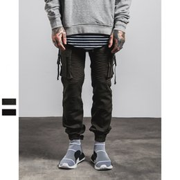 Wholesale 2016 autumn and winter new knitted garments Air Force zipper pants side pocket pants design joggers roshe run leisure pants