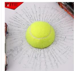 Wholesale Car post funny d car stickers creative personality tennis football basketball baseball car glass stick