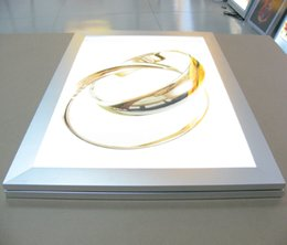 Wholesale Snap Box Frames - LED light box panel light sign A4 size snap frame backlit sign