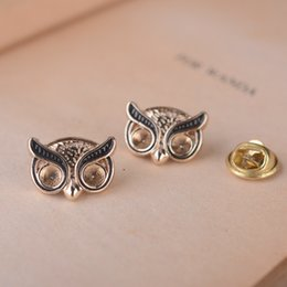Owls brooch Bird Brooches Suit collar flower Korean version Angry bird Men and women suit collar flower Factory outlets