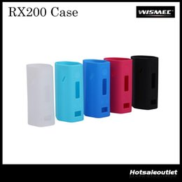 Authentic Wismec Reuleaux RX200 Silicone Case Rubber Sleeve Protective Cover Skin