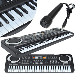 Wholesale 61 Keys Music Electronic Keyboard Key Board Kids Gift Electric Piano Organ