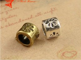 A3790 11 * 8 * 5mm bronze Big perles de trous faits à la main Accessoires bijoux bricolage magasin de gros, en vrac tibet charme pendentif connecteur cintre sous caution à partir de boutiques de charme fabricateur