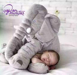 Wholesale 60cm Ikea appease elephant plush toy doll baby sleep long pillow sleep with a doll doll birthday gift