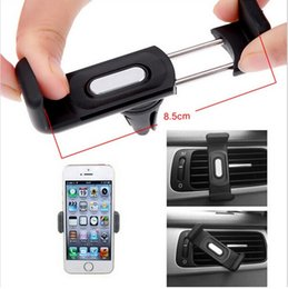 Wholesale For smart phones iphone s samsung s7 s6 s5 Automobile air conditioning outlet cellular phone support Car navigator bracket Suitable