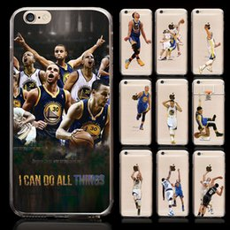 Wholesale Stephen Curry Soft TPU silicone Back Cover for iPhone Plus plus painted case basketball