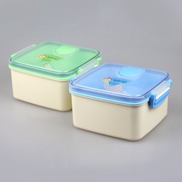 Wholesale 2016 China Factory YOOYEE Brand Manufacture BPA Free Plastic Kid Friendly Lunch Box Ideas with Chopsticks