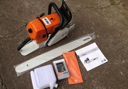 Wholesale 2pcs packing in one big box MS660 gasoline chainsaw with inch bar st orignal saw chain