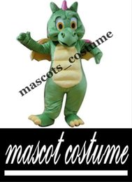 Wholesale Classical Premium Top Quality Real Pictures Deluxe Dinosaur Mascot Costume Halloween Mascot Costume