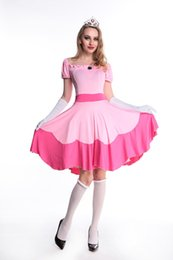 Halloween fairy tale Snow White princess skirt super Mario game role playing dress costumes