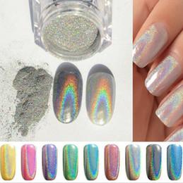 Wholesale 2016 cheap coulour Nail Glitter Powder Shinning Mirror Glitter Powder Chrome Pigment Nail Art Dust DIY Decoration