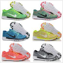 Cheap Running Shoes Men Women Original Free TR Flyline High Quality Sneakers Cheap FreeRun 5.0 3D Knitting Walking Boots Free Shipping