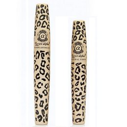 Wholesale Love alpha leopard print velvet lengthening mascara brand better than d fiber lashes mascara no with box