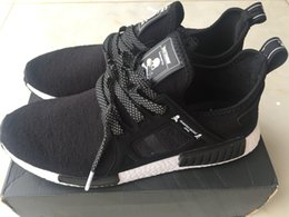 Wholesale Greatamy mastermind japan best quality shoes NMD XR1 skull running shoes sports shoes boys men snakers with orignal box bags reciept