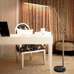 Wholesale LED Floor Lamp For Living Room Swing Arm Adjustable Balcony Reading Light K Floor standing lamps