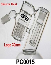 Wholesale In the new glass catcher arms perk shawer heat resistant glass pipes hookah pumping device BUBBLER DHL