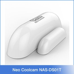 Wholesale NEO NAS DS01T Smart Home Automation Wireless Smart Door Window Sensor Alarm Security Protector Work With Alarm Host NAS AC01DT