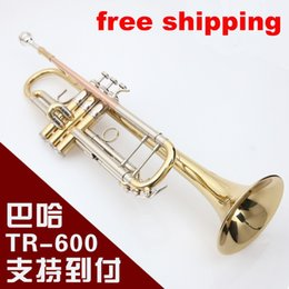 Wholesale Bach TR Trumpet Bach TR type small series of brass instruments cupronickel in section inventory Bb trumpet