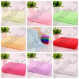 Wholesale 500PCS MMA65 Microfiber Towels Super Absorbent soft Towel Durable Beach Shower Towel Bath Towel Bamboo Hair Drying Washcloth Towels