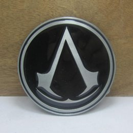 BuckleHome fashion Assassin's Creed Unity Video Game belt buckle with pewter finish FP-03621 with continous stock free shipping