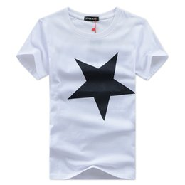 Hot 2016 New Men's T-shirt Cotton Short Sleeved T-shirts Printing Character Star short sleeves
