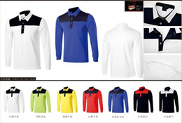 Wholesale Ti golf T shirt dry fast long sleeve assorted color Autumn sports appearal colors available