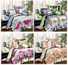 Wholesale New Arrival Style D Bedding Sets Best Price Bedcover Set of Duvet Cover Bed Sheet Pillowcase