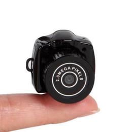 Wholesale 2016 Smallest Camera Mini Camcorder Micro Pocket Audio Video Recorder Portable DVR Digital DV HD Web Cam MP P JPG AVI Y2000