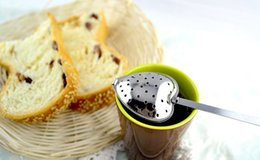 New Stainless Steel Loose Tea Infuser Leaf Strainer Filter Diffuser Herbal Spice H2010233