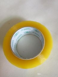 Bopp packing tapes strong force transparent single sided adhesive tapes packing materials for carton sealing 80Y X 55mm