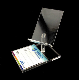 Wholesale New Style Clear Acrylic high chair shape Mobile cell Phone Display rack show Holder Stand Mount