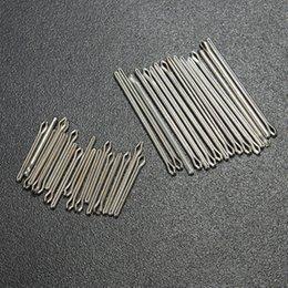 Descuento bandas de acero inoxidable enlaces La nueva herramienta práctica de la reparación de los pernos de mariposa del acoplamiento de la venda del reloj del acero inoxidable de Wholesale-6mm-23m m se adapta a 18 tamaños