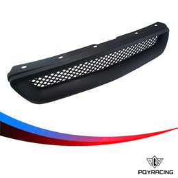 Wholesale PQY RACING Racing Black Abs Type R Grills Grille for Honda Civic PQY ZW103