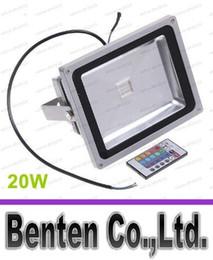 Скидка водить садоводства Ultra Bright 20W RGB LED Прожектор 100-230V водонепроницаемый IP68 Led Открытый сад свет лампы LLFA11