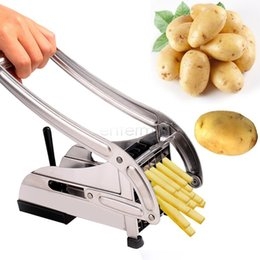 Wholesale Stainless Steel Home French Fries Potato Chips Cutter Machine Maker Slicer Chopper Dicer Blades