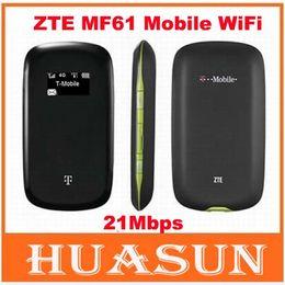 Wholesale UNLOCKED G ZTE MF61 WCDMA Router Mbps G Wifi Modem Router Hotspot