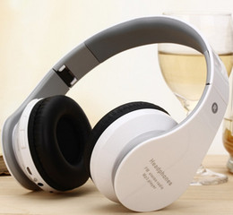 Wholesale Wireless Bluetooth Headphones Casque Audio Portable Folding Bass Stereo Headset Noise Cancelling Built in Mic TF Card FM Radio