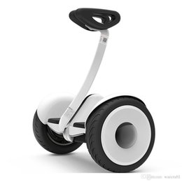 Wholesale Xiaomi Ninebot balancing Scooter mini Car original product km h km Two Unicycle Wheels Smart System Phone APP Alloy body LED Lights