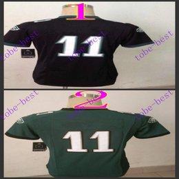 Wholesale carson wentz Nik Elite Football Jerseys Best quality Authentic Jersey Embroidery Logo Size M XL Can Mix Order