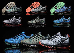 Wholesale 2016 New Fingertrap Max Mens Running Shoes weave Camouflage Series High Quality airmax Sneakers Maxes Outdoor Sports Shoes Eur